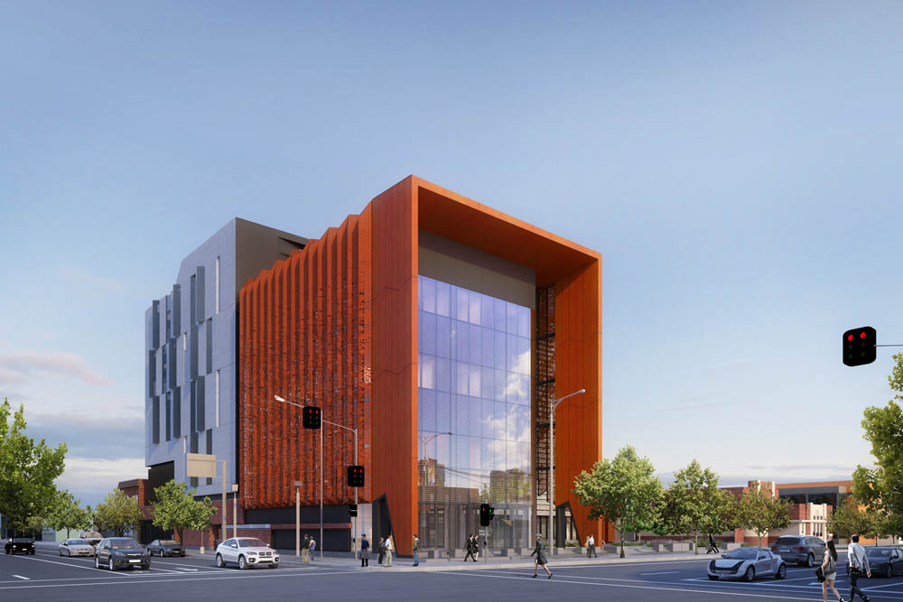 A design of the new Shepparton Law Courts